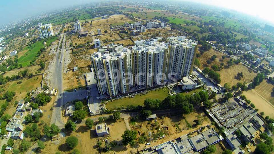 Manglams The Grand Residency Aerial View