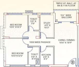 2 BHK Apartment in Shankh Mani