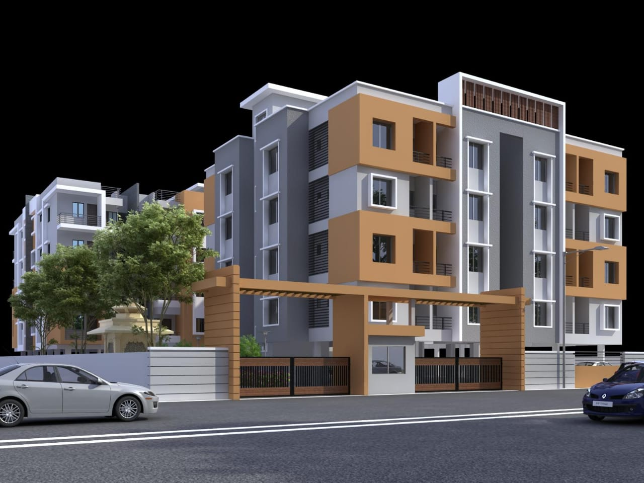 Manjeet Smart Homes Entrance