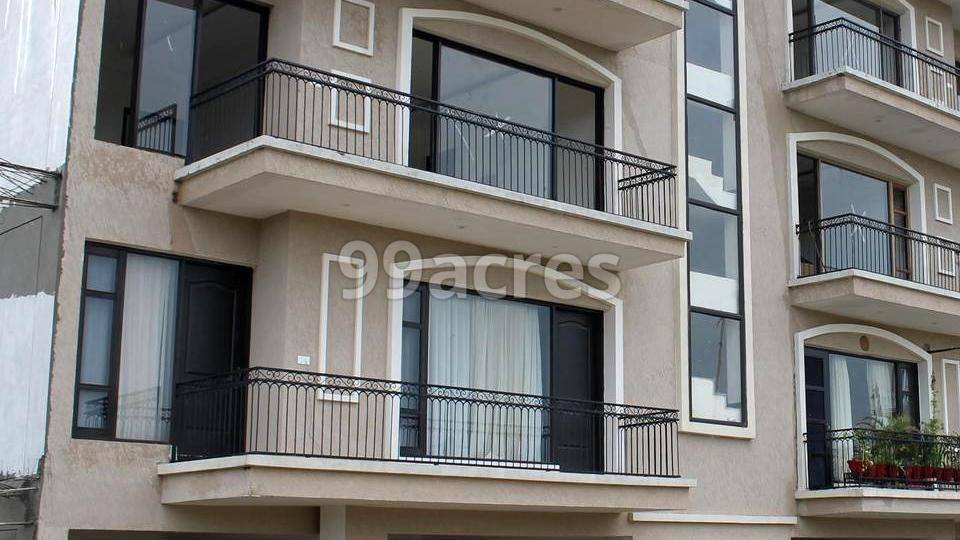 Manohar Palm Spaces Elevation