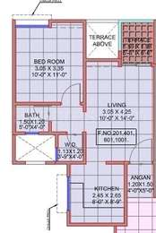 1 BHK Apartment in Mantra Moments