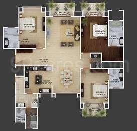 3 BHK Apartment in Mantri Espana