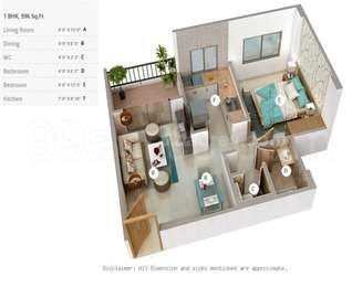 1 BHK Apartment in Maruti Dreamville