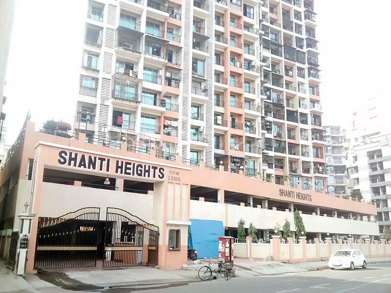Marvel Shanti Heights Entrance View