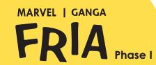 LOGO - Marvel Ganga Fria Phase 1