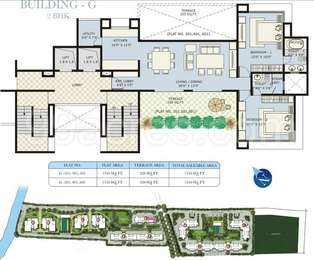 2 BHK Apartment in Marvel Ritz