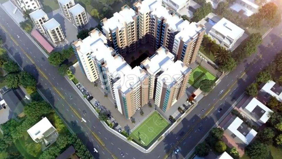 Northway Millennium Artistic Aerial View