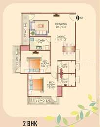 2 BHK Apartment in Mayur Utsav