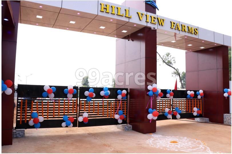 Hill View Farms Entrance