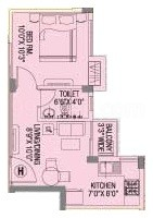 1 BHK Apartment in Meridian Aamar Bari