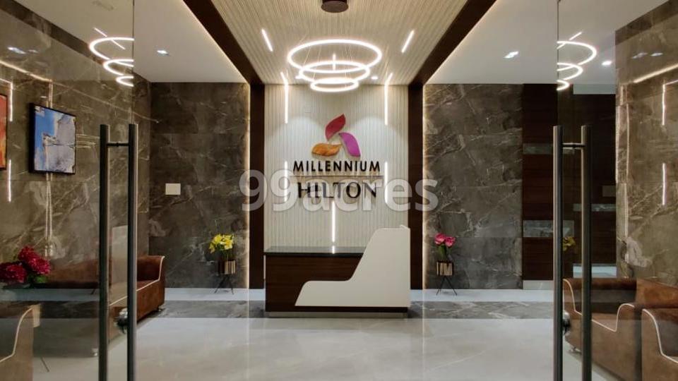 Millennium Hilton Reception Area