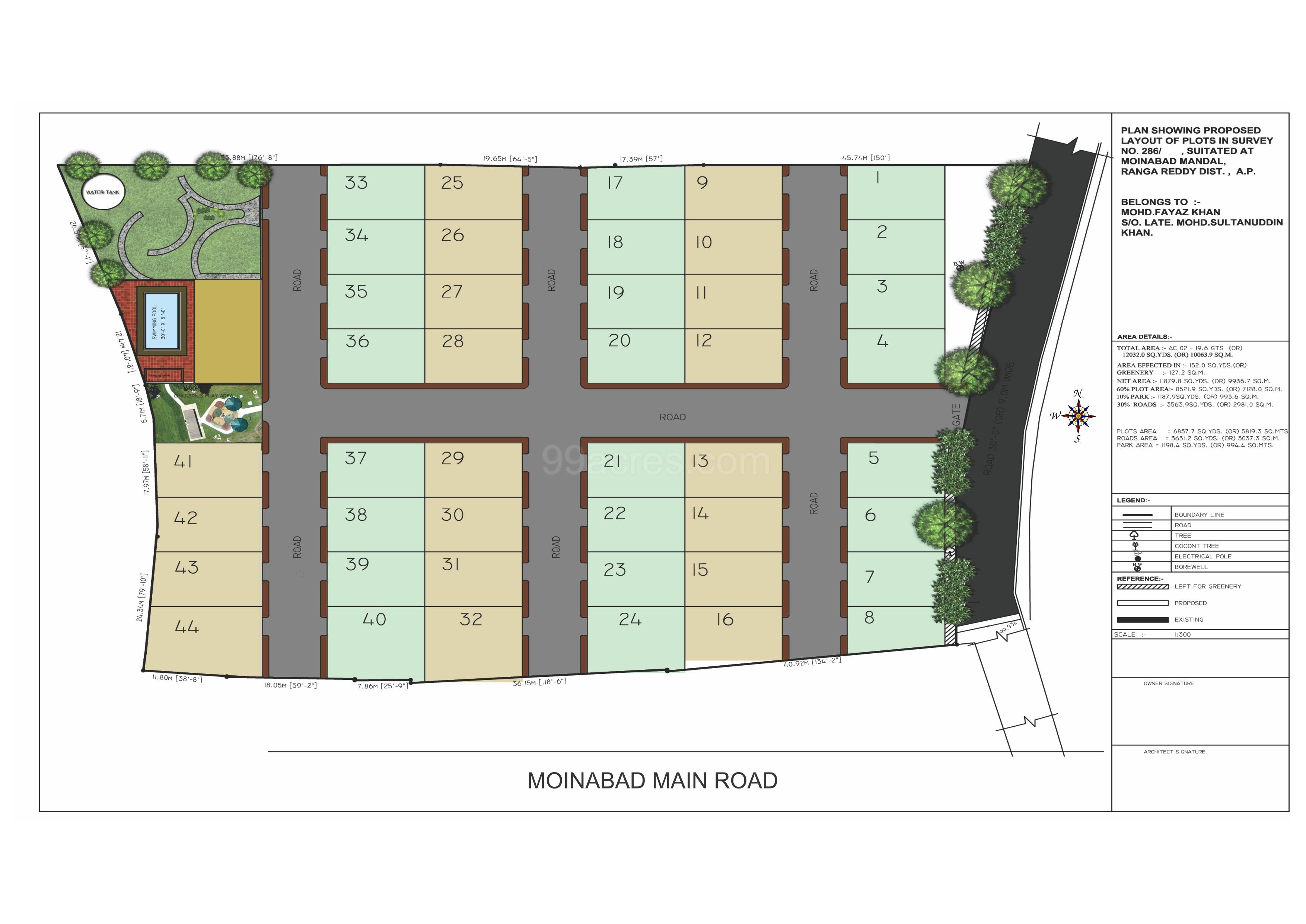 Millennium Infra Developers Millennium Villa Green Floor Plan ...