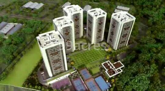 Mittal Pebbles High Mont Aerial View