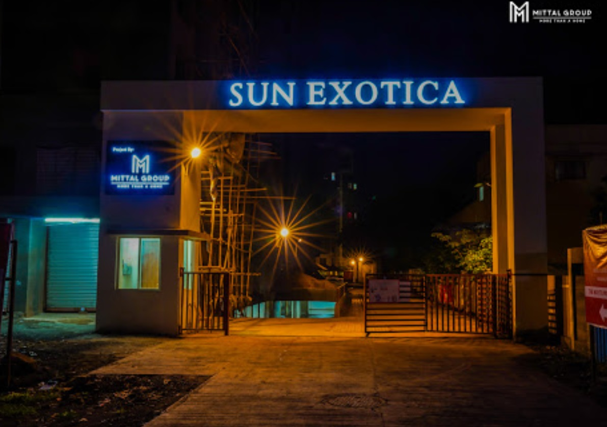 Mittal Sun Exotica Entrance