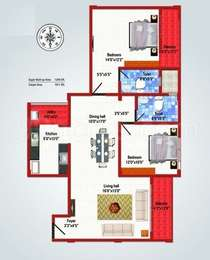 2 BHK Apartment in MJ Lifestyle Azaliya
