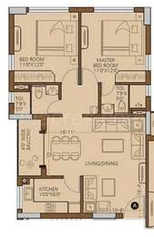 2 BHK Apartment in Modello Highs