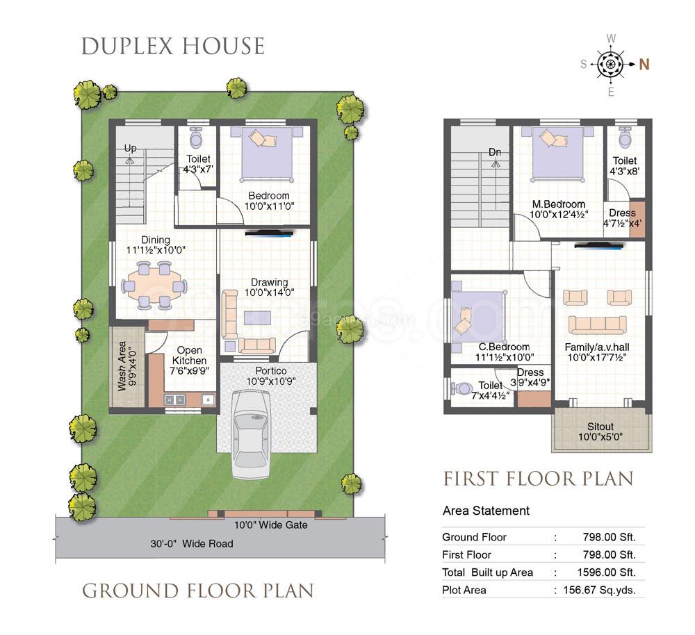 Mourya Constructions Builders Mourya Kingway Floor Plan