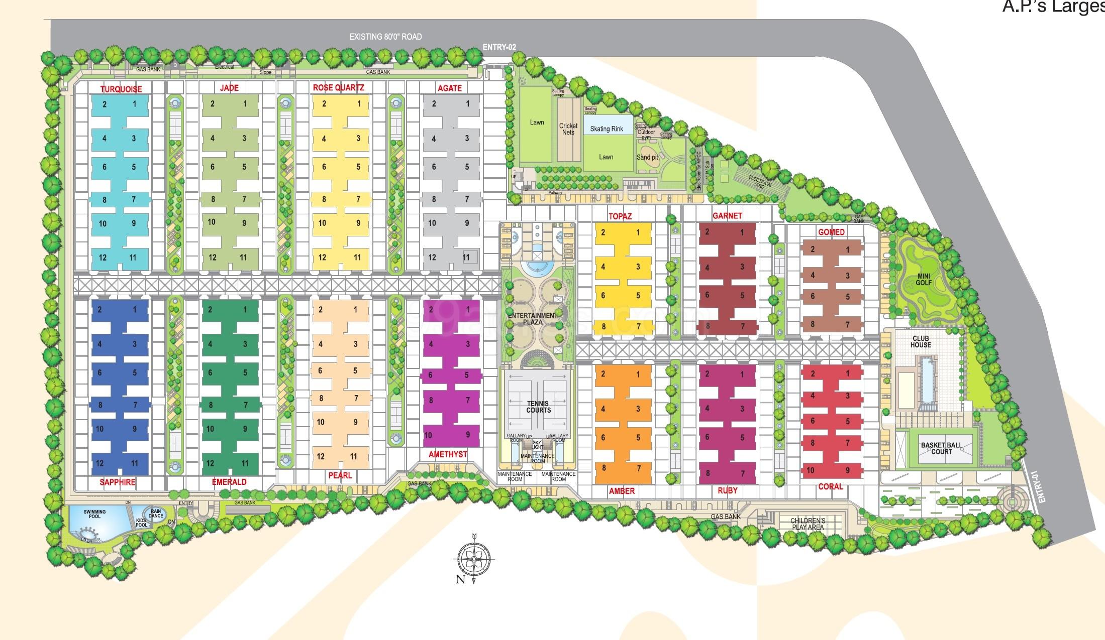 My Home Constructions My Home Jewel Floor Plan - My Home Jewel ...
