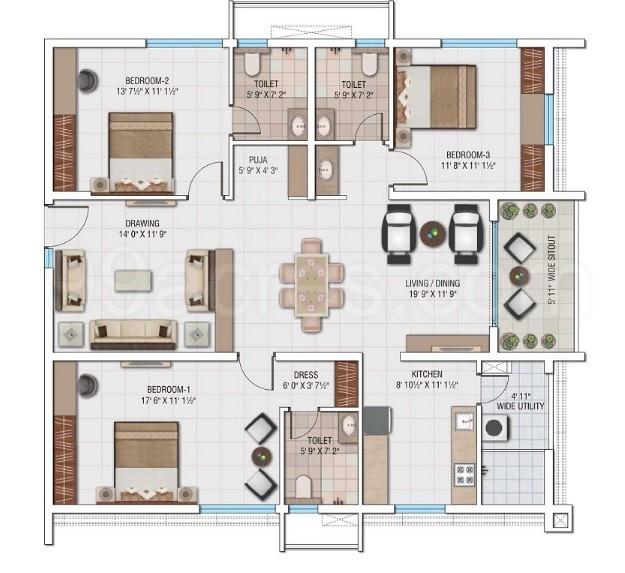 My Home Avatar Floor Plans