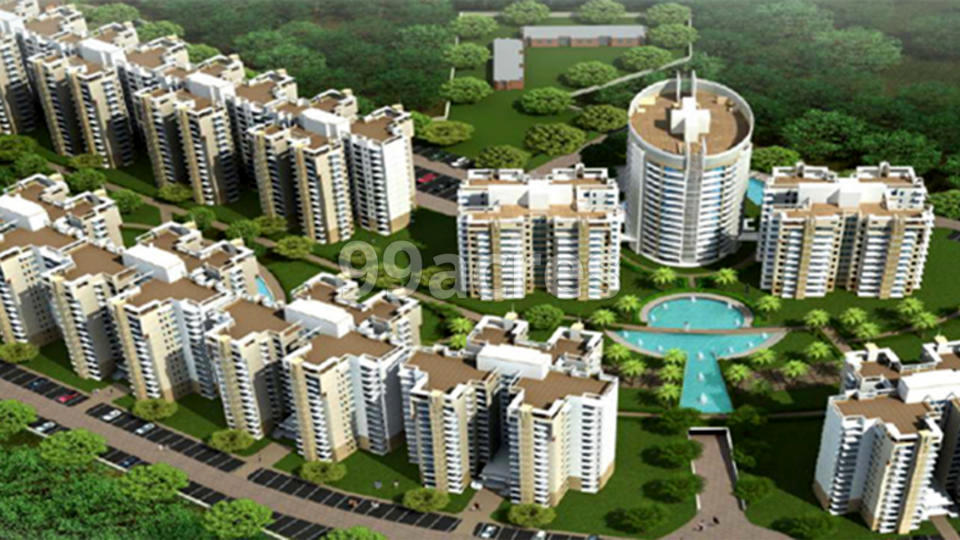 NK Savitry Greens 1 Aerial View