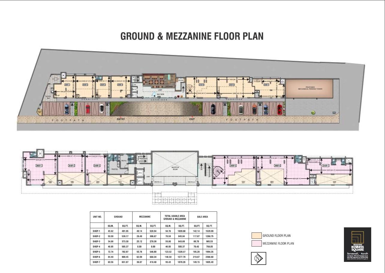 Naiknavare Seasons Business Square Typical Plan