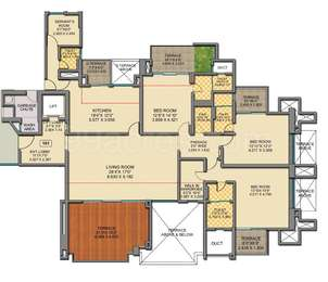 3 BHK Apartment in The Spires