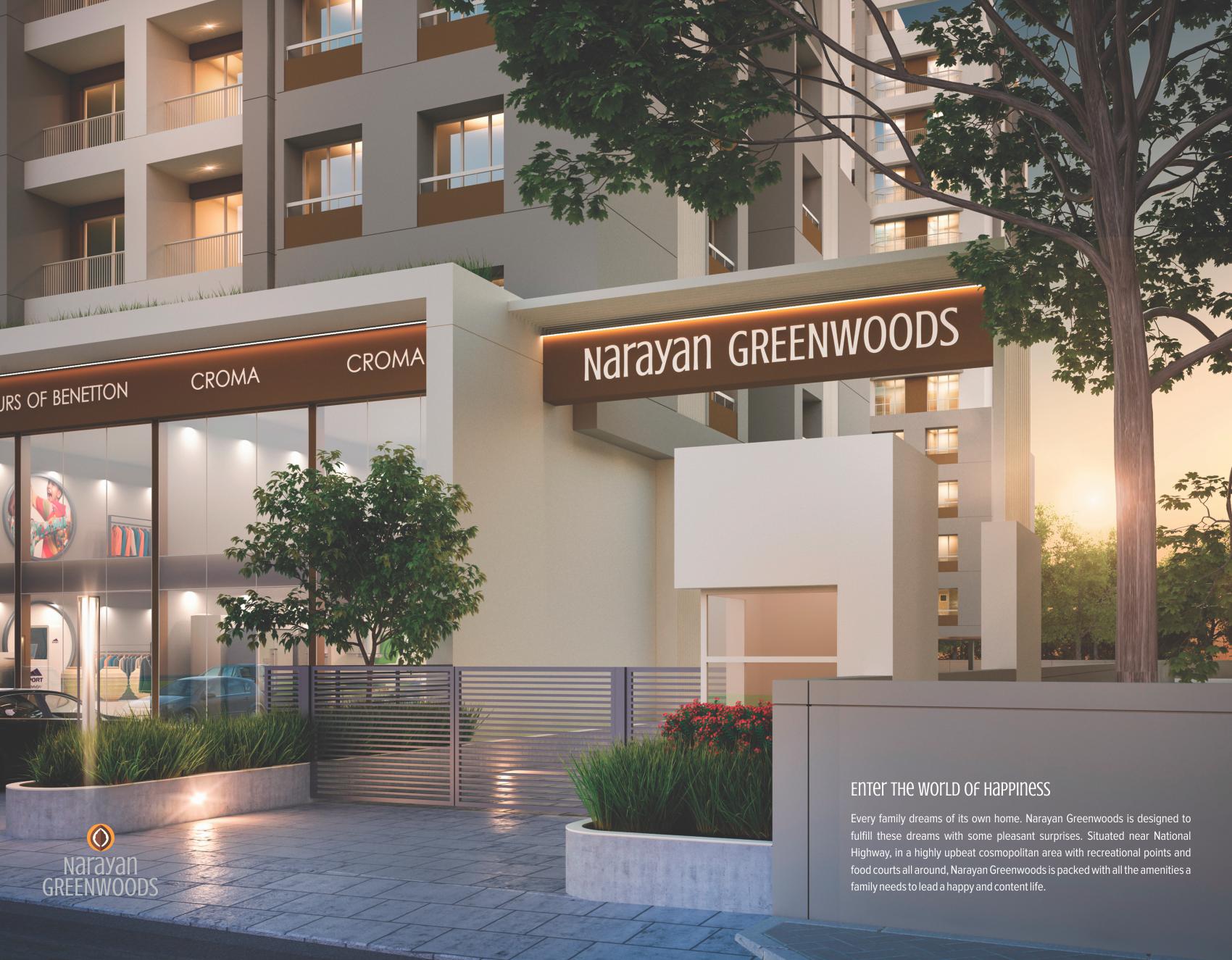 Narayan Greenwoods Entrance