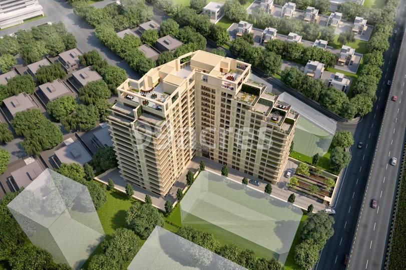 Narayankrupa Krupal Pathshala Aerial View