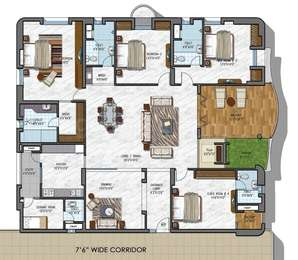 4 BHK Apartment in NCC Urban Gardenia
