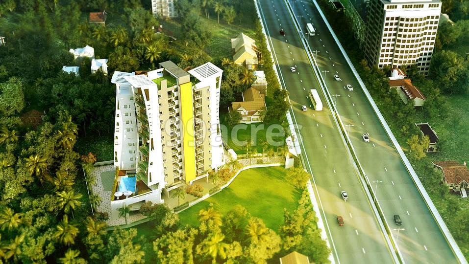 NSD Triumph Artistic Aerial View