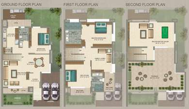 3 BHK Villa in Neptune Green Woods Cove