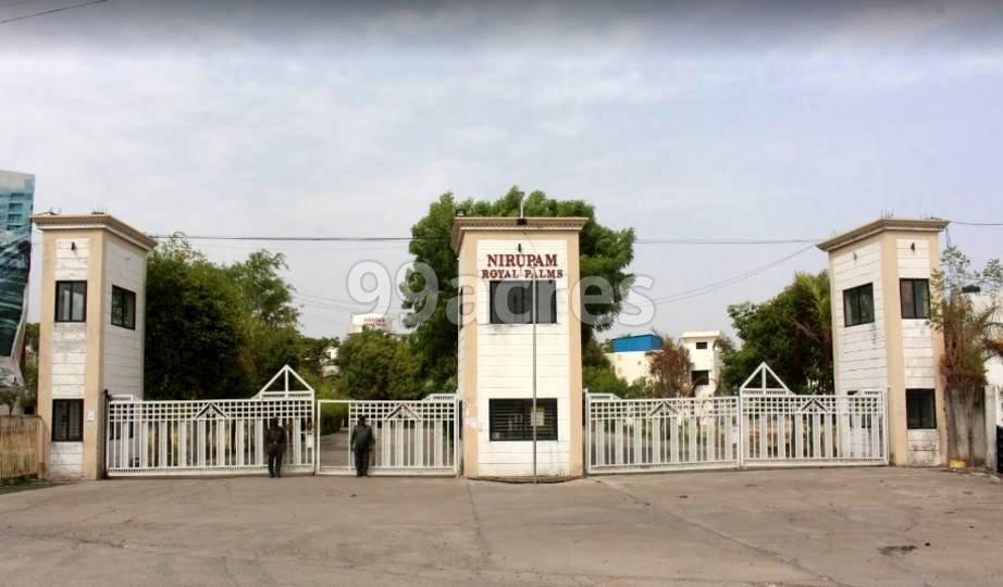 Nirupam Royal Palms Entrance
