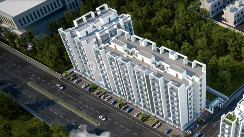 NK Shree Siddheshwar Highstreet Aerial View