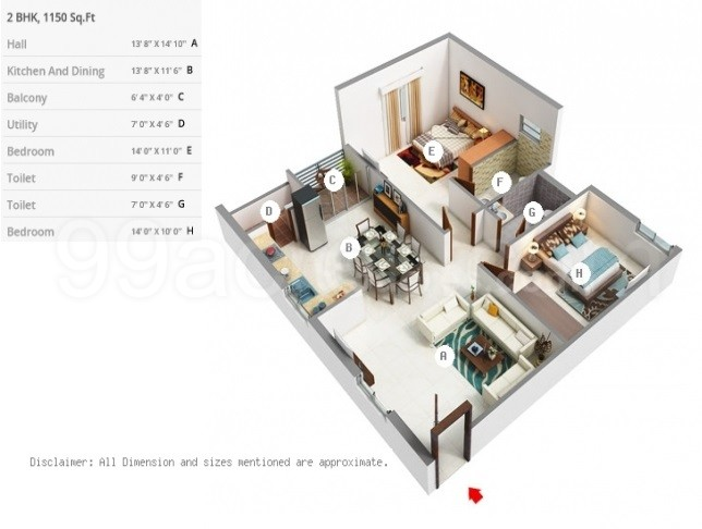 NR Infra Developers NR White Rose Floor Plan - NR White Rose HSR ...