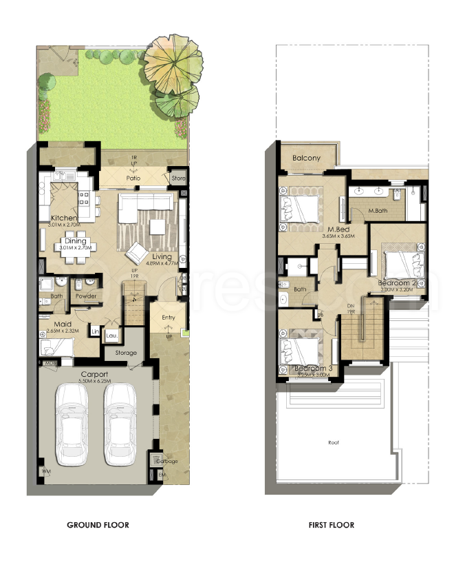 Nshama Sama Townhouses Floor Plan