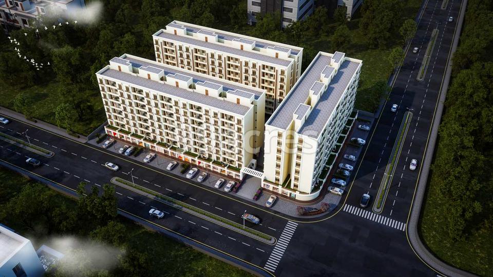 Nyalkaran Shree Siddheshwar Hillstone Aerial View