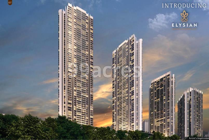 Elysian by Oberoi Realty Elevation