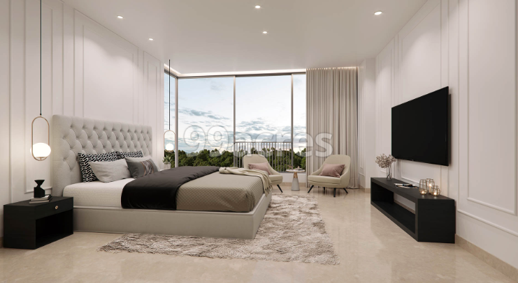 Elysian by Oberoi Realty Bedroom
