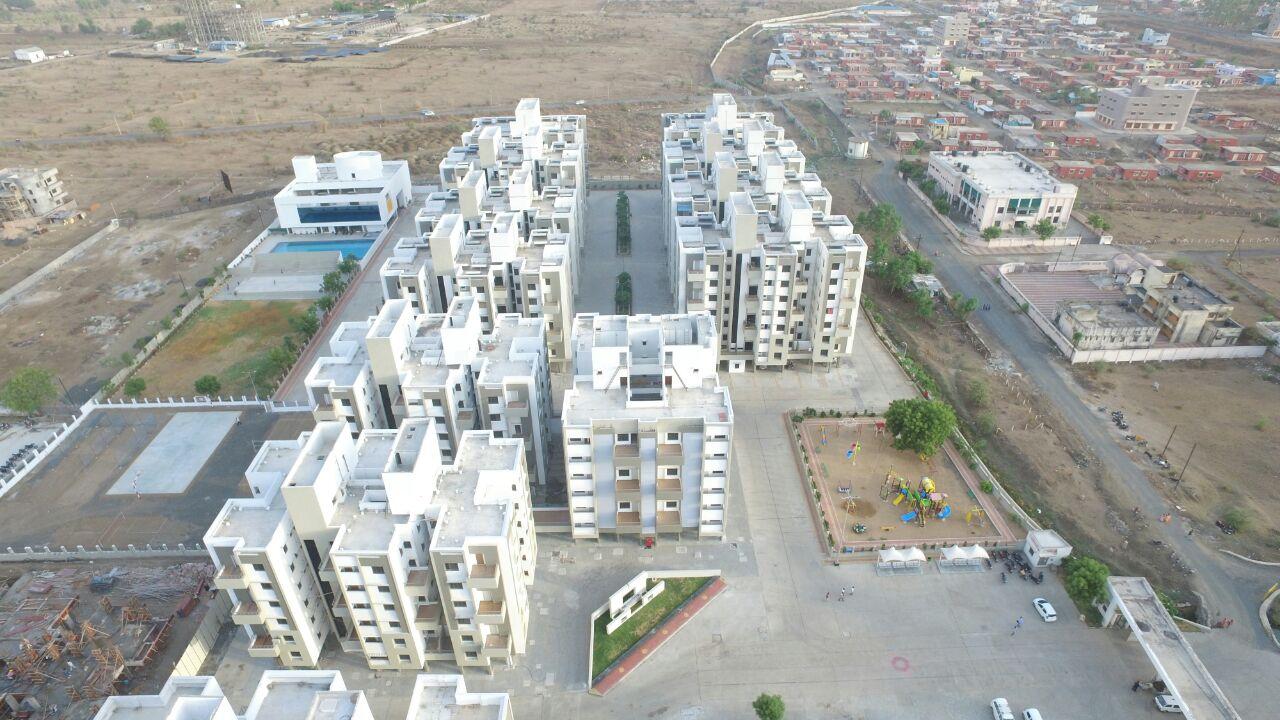 Om Shiv Brighton Aerial View
