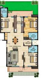 3 BHK Apartment in Omaxe Shiva