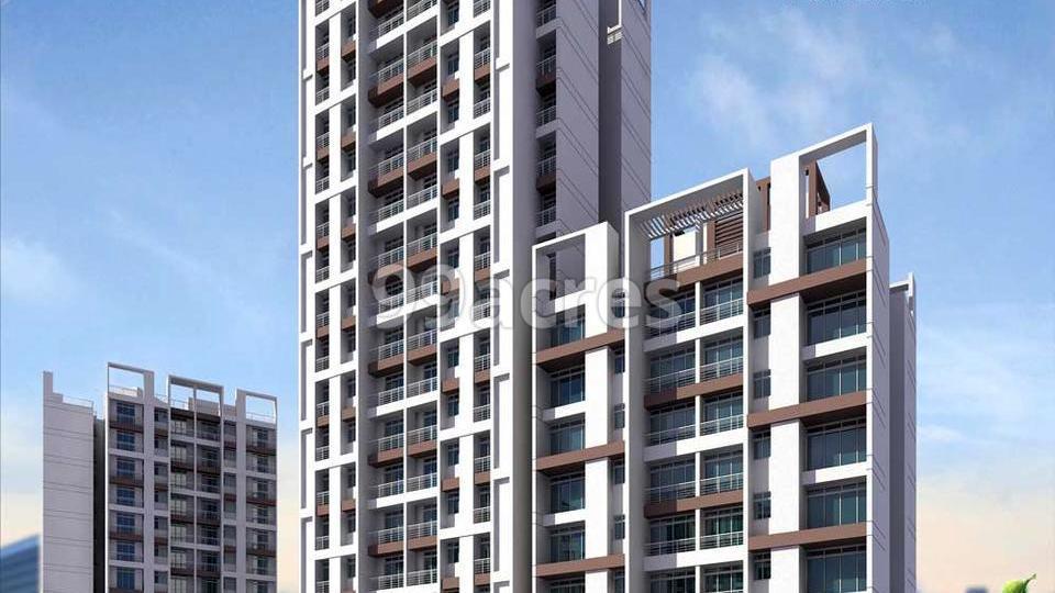 Rathi Mansarovar Residency Artistic Elevation