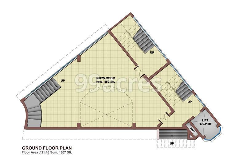Osko Orbit Plaza Typical Plan
