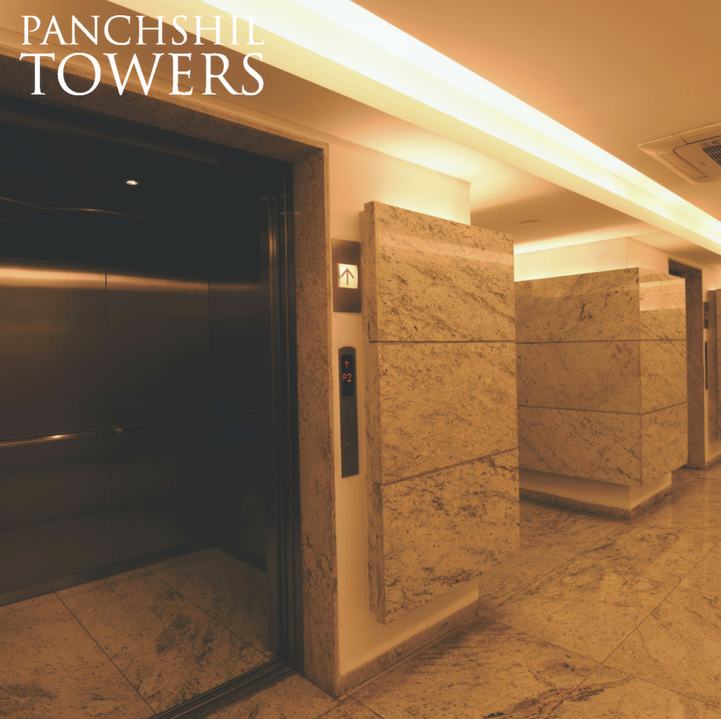 Panchshil Towers Lift Lobby