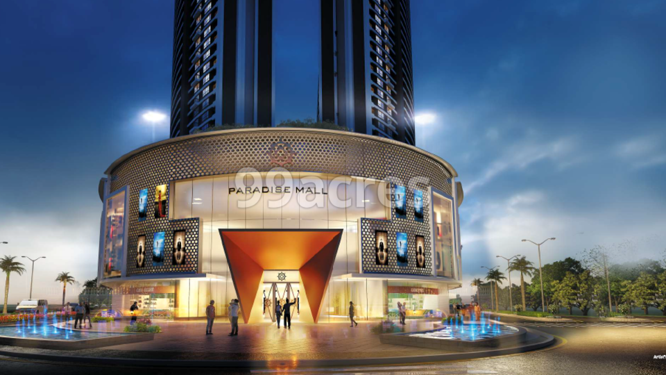 Paradise Mall Elevation