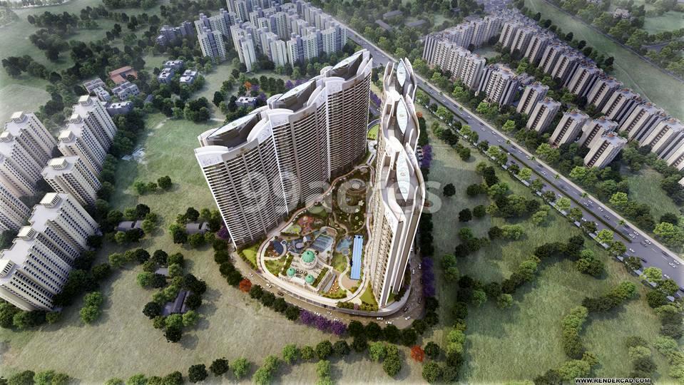 Paradise Sai World Empire Aerial View