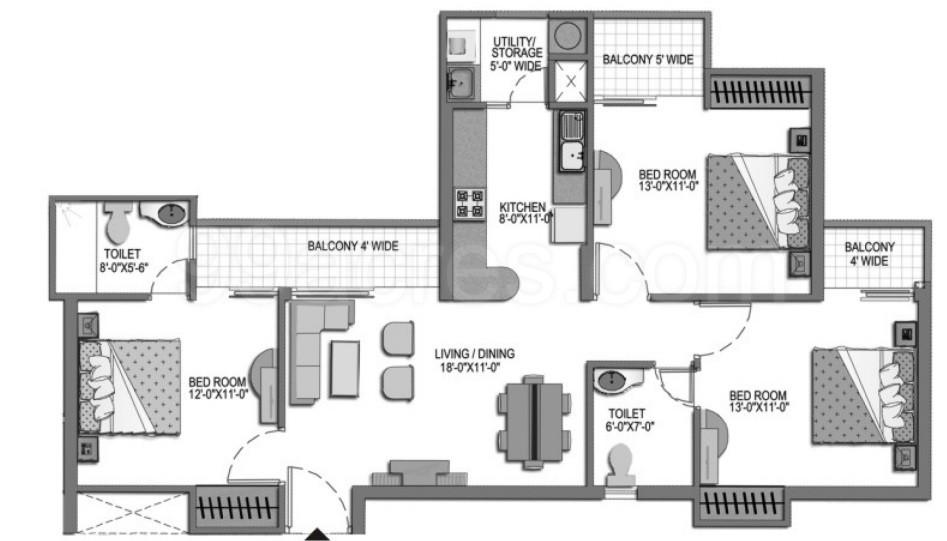 Paramount Builders Paramount Floraville Floor Plan Paramount