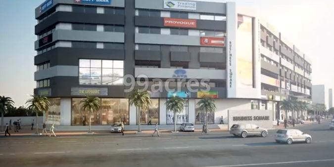 Paras Champa Business Square Elevation