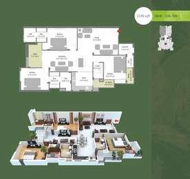 3 BHK Apartment in Park Vaishali