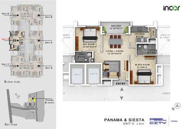 2 BHK Apartment in Incor PBEL City
