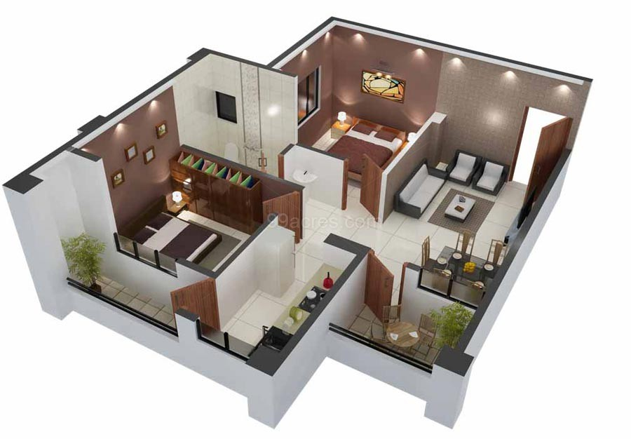 Padmadeep developers padmadeep pearl heritage floor plan for 840 square feet
